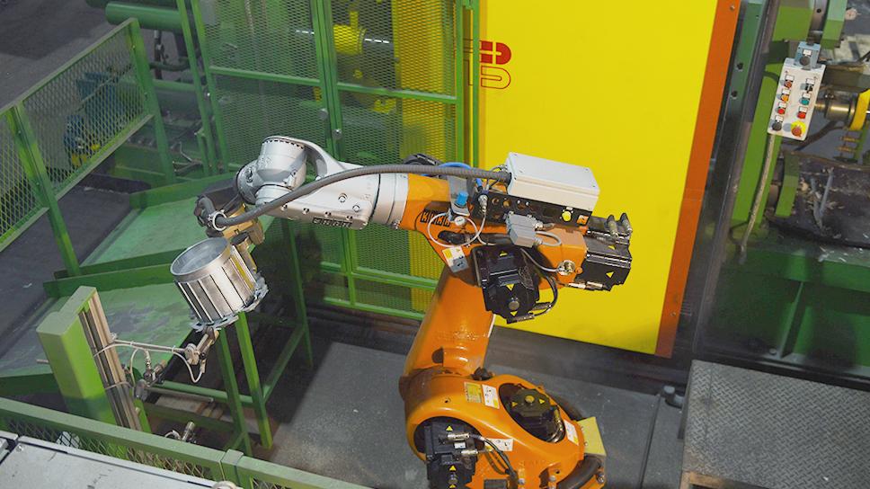Автоматизированный литейный комплекс.